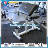 Anti-Slip 1m резиновый плитка, придает квадратную форму резиновый плитке, рециркулирует резиновый плитки резины спортивной площадки плитки