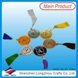 O metal macio do esmalte ostenta a medalha da estrela da ginástica dos esportes da medalha (lzy-201300231)