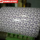 Modèle en acier galvanisé de revêtement PPGI de mode de bobine