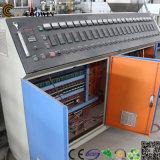 Linha de produção decorativa plástico de madeira da placa de WPC Co do PVC - máquina da extrusão