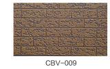 """Panneau """"sandwich"""" gravé en relief métallique pour l'extérieur de structure métallique et de villa et de construction"""