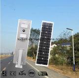 옥외 1개의 에너지 절약 태양 LED 거리 또는 정원 또는 도로 빛에서 50W 전부