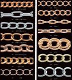 Corrente para a corrente da esfera da jóia da forma do ferro do metal do Tag chave do fato dos vestuários do cão da sapata da bolsa