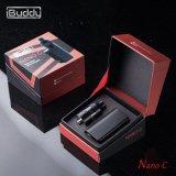 형식 Nano C 상단 기류 통제 510 소형 Ecigarette 상자 Mod 기화기 장비