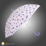 Automobil-geöffneter gerader Regen-Regenschirm