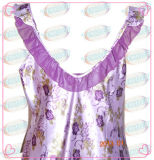 Camisole van het Satijn van de Polyester van dames Kleding (tex-SPD020)