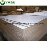 MDF da melamina do branco de 2.5mm