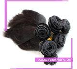 Cheveu malaisien humain de Vierge de point culminant de produits capillaires de la Reine