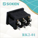 Soken二極TUV VDE ENECのロッカースイッチT85