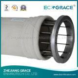 Alto sacchetto filtro industriale efficiente della polvere dell'alloggiamento del sacchetto filtro