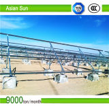 Suporte de alumínio do Carport do painel solar, sistema solar 300W