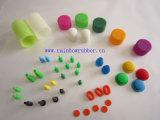 Produto colorido moldando da borracha de silicone