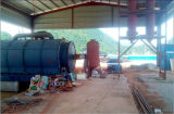 La Malesia Popular Tyre Recycling a Oil Pyrolysis Equipment 10ton