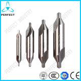 Pedacitos de taladro de centro del acero de alta velocidad para el metal
