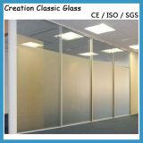 3-15mm Vidro Gravado Ácido/ Vidro Geado com CCC