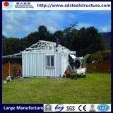 El taller del acero estructural vertió pequeños hogares modulares