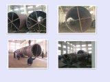 Secador de cilindro das microplaquetas de madeira