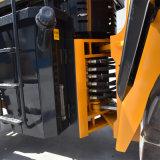 유압 조정가능한 깔판 포크 소형 바퀴 로더