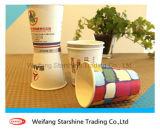 Einzelnes PET überzogenes Cup-Papier für das heiße Trinken