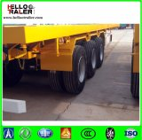 40FT langes Fahrzeug-Hochleistungsbehälter-Schlussteil-LKW
