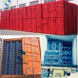 De op zwaar werk berekende Volledige Perimeter Gesloten Plastic Pallet van het Dek