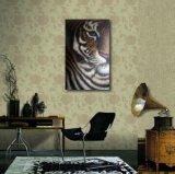 L'Oeil-Pétrole du tigre peignant le modèle neuf