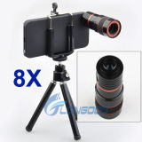 8X Zoom Telescope Camera Lens Kit + Tripod + Fall für Apple iPhone 5 5g