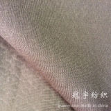 Tessuto della pelle scamosciata con il trattamento di timbratura caldo
