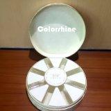 Коробка подарка упаковки бумаги свечки круглого высокого качества пурпуровая