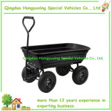 600 Lb. 플라스틱 물통 (TC2145)를 가진 많은 정원 덤프 손수레