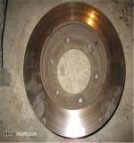 De stevige VoorSchijf van de Rem van het Gietijzer voor Landrover Gbd90829