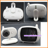 3.5 drahtloser Digital Baby-Monitor Zoll LCD-mit Musik-Spieler u. Temperatur-Befund