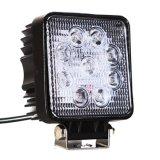 lumière carrée de lampe de faisceau d'inondation de travail de 27W LED