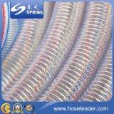 PVC鋼線補強された水産業排出のホース
