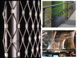 Aço inoxidável Flexmesh/segurança e jardins da parede/engranzamento fio inoxidável