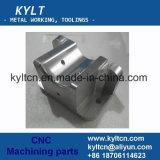 Pièces en métal d'alliage d'aluminium de commande numérique par ordinateur de précision/objets de usinage