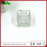 Botella de cristal del difusor de la caña del cilindro de Wholsale 100ml con el casquillo del aluminio del oro