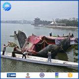 Sac à air en caoutchouc de récupération en mer de conduit d'aération de première vente