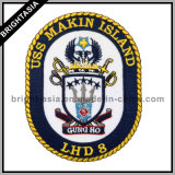 Embroidery su ordinazione Patch per Police Uniform/Police Badge (BYH-10746)
