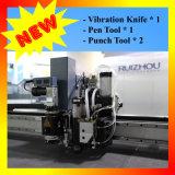 Автомат для резки CNC Двойн-Головки кожаный для кожаный товаров