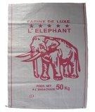 Zucchero, alimento, sacchetto tessuto polipropilene laminato della carta kraft del cemento