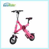 Kettenloses elektrisches Pocket Rad der Lithium-Batterie-250W des Fahrrad-zwei, das elektrisches Fahrrad faltet