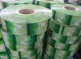 Escritura de la etiqueta del encogimiento del PVC de la aduana