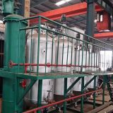2t Edelstahl Crude Palm Oil Refining Machine