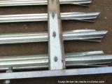 Cerca de la palizada del metal de China