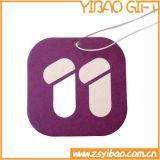 Populäres hängendes Papierluft-Erfrischungsmittel mit kundenspezifischem Firmenzeichen (YB-f-004)
