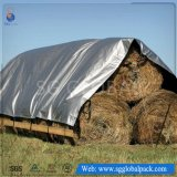 Custom Grey PE Tarps for Hay Cover