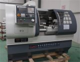 Torno de giro horizontal Ck6140A do CNC da base lisa da máquina do torno do metal do CNC