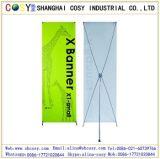 Basamento della bandiera X della visualizzazione per fare pubblicità
