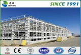 Niedrige Kosten-Stahlträger-Baumaterial-Fertighaus-Stahl-Werkstatt